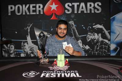 Rehman Kassam Wins the 2017 PokerStars Festival London