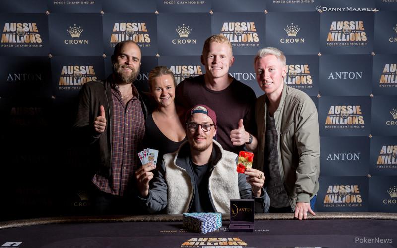Espen Solaas - Event 25 Aussie Millions Winner 2017