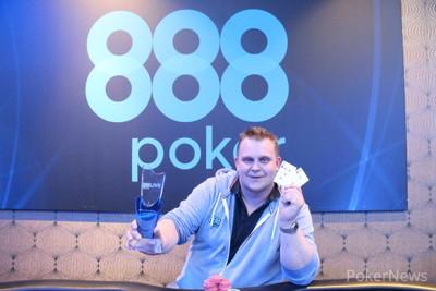 888Live Easter Edition Winner Krzystof Pregowski