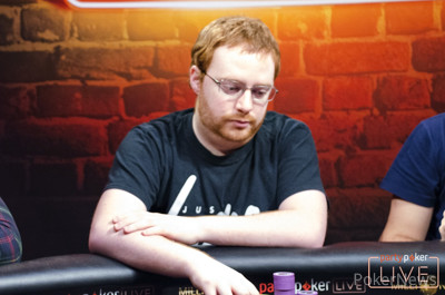 Niall Farrell tops the High Roller field after Day 1