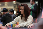 Katie Swift in the zone on Day 4. She is seven players from £1million.