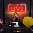 Maria Lampropulos - 2017 partypokerLIVE Millions Dusk Till DawnMain Event Winner