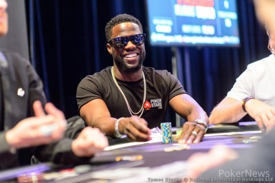 Kevin Hart will be one of the 56 Super High Roller Bowl players!