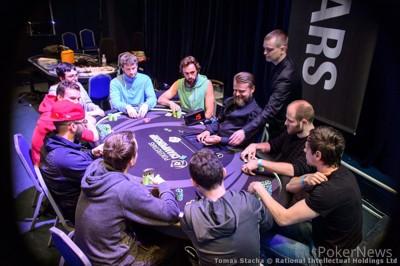 €100,000 Super High Roller final nine