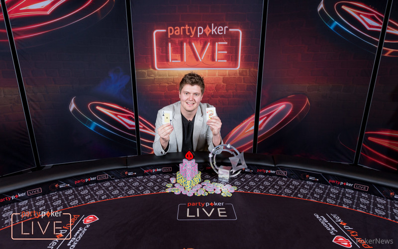 Jean-Pascal Savard - partypoker LIVE Million North America Main Event Winner 2017