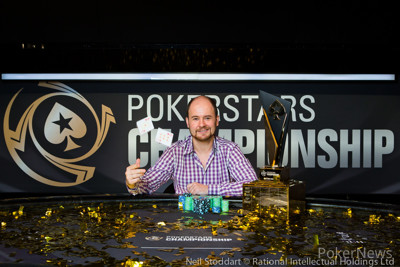 PokerStars Championship Sochi Main Event Champion Pavel Shirshikov