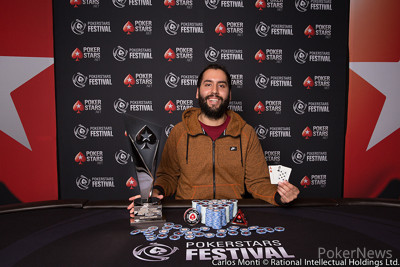 PokerStars Festival Chile Main Event Champion, Christopher Franco