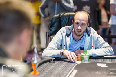 Andre Haneberg is out in second place