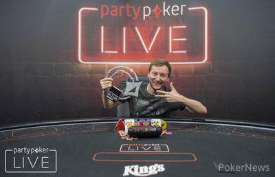 Michal Mrakeš, partypoker LIVE Million Germany Champion