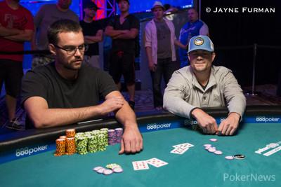 John Hanna doubles up