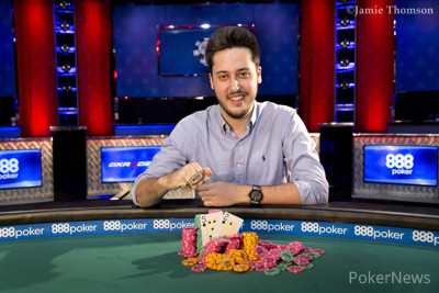 Adrian Mateos Wins his Third WSOP Bracelet
