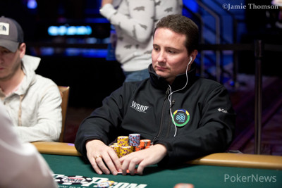 888poker ambassador Bruno Politano in contention for first bracelet
