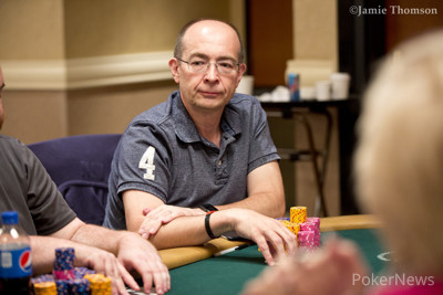 Day 2 Chip Leader Howard Smith