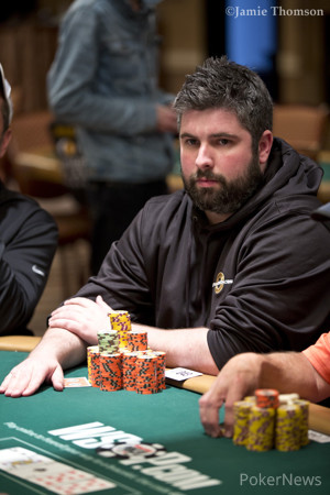 Chip leader Ryan Leng