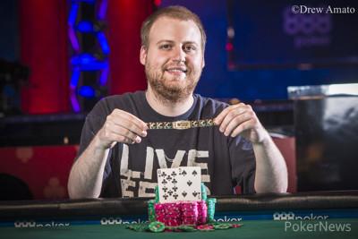 Joe McKeehen winning bracelet No. 2