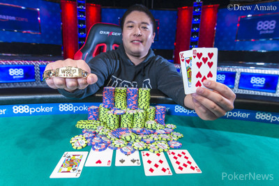 Brian Yoon won the Monster Stack in 2017