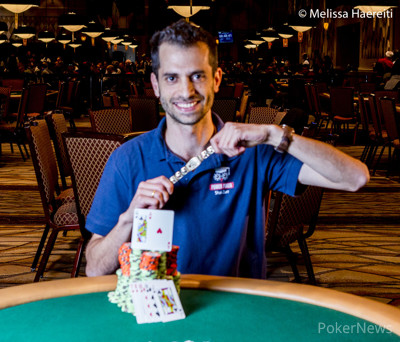 Shai Zurr Wins Event #65: $1,000 No-Limit Hold'em (30 Minute Levels)
