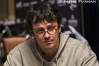 Isaac Haxton has built a chip lead in the first session of the $50,000 Poker Players' Championship