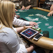 Katie Lindsay playing Ladies Event 70 and WSOP.com Event 71