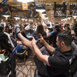 Aaron Massey playing Wsop.com Event 71 and railing Ladies Event 70
