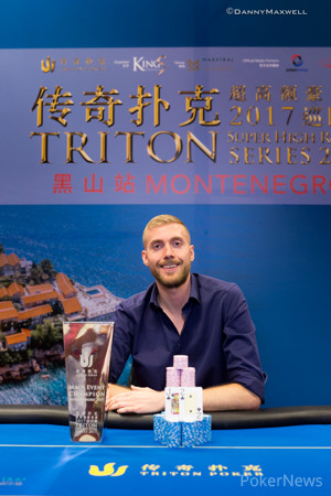 Manig Loeser - 2017 Triton Super High Roller Series Montenegro Winner