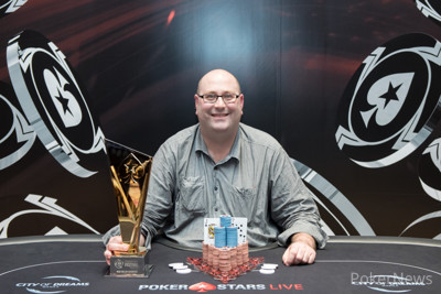 Peter Plater Wins the High Roller Shot Clock in Manila