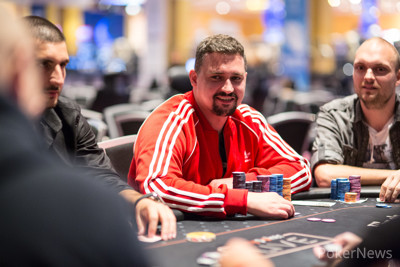 Timur Caglan third in chips after Day 1b