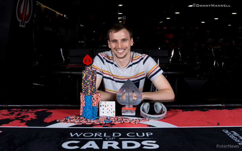 Charles La Boissonniere - partypoker World Cup of Cards