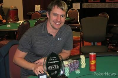 Defending champion Jeff Harrison