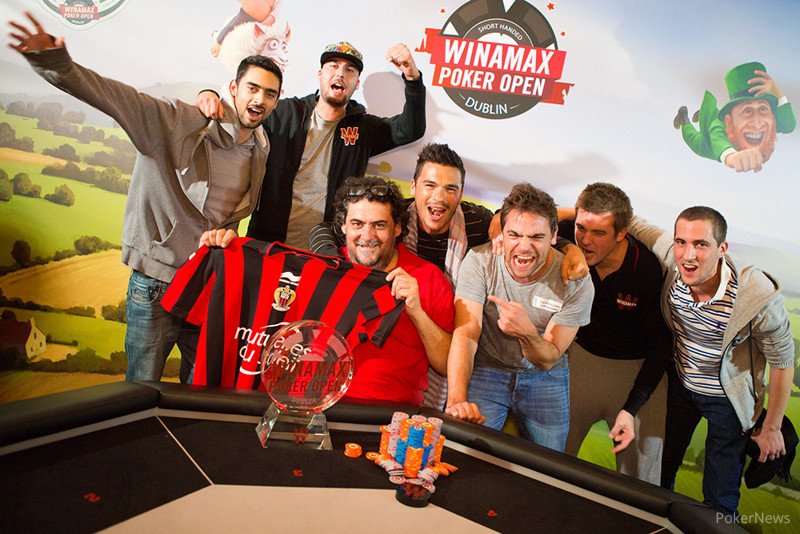 2016 Winamax Poker Open champion Antonin Teisseire