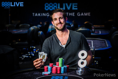 Jamie Lunt - 888Live High Roller Winner