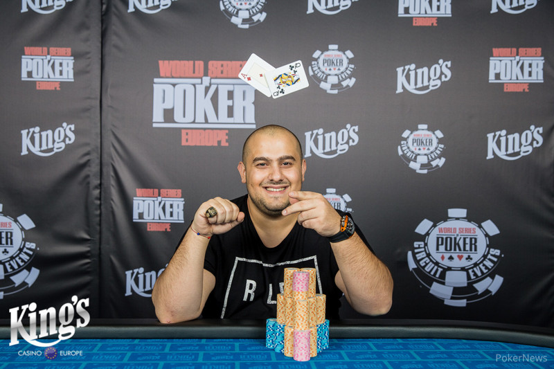 Fahredin Mustafov Wins the High Roller