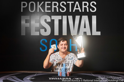 Kiryl Radzivonau - High Roller WInner