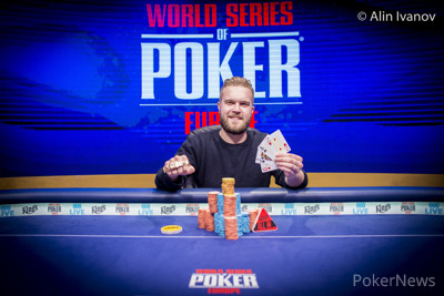 Andreas Klatt, WSOPE  Event #2: €550 Pot-Limit Omaha Champion