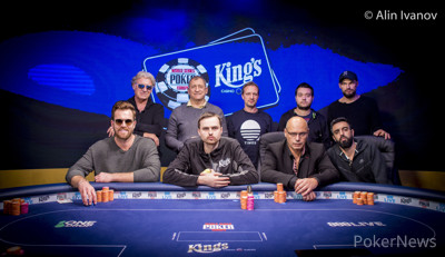 WSOPE Event #3 Final Table