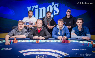 WSOPE Event #4 Final Table