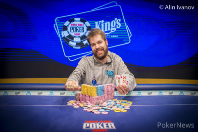 888poker Ambassador Dominik Nitsche, WSOPE Event #10 Winner
