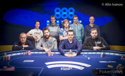 High Roller for One Drop Final Table