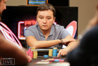 Shyngis Satubayev eliminated in 16th