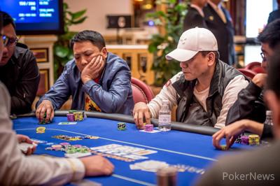 Wong Leads   2017 Suncity Cup Finale Macau   PokerNews