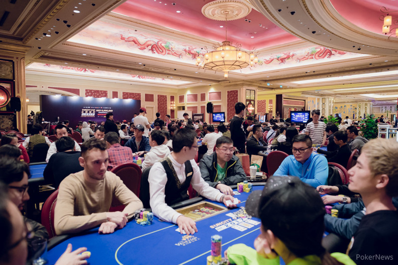 Poker King poker room at Venetian Macau