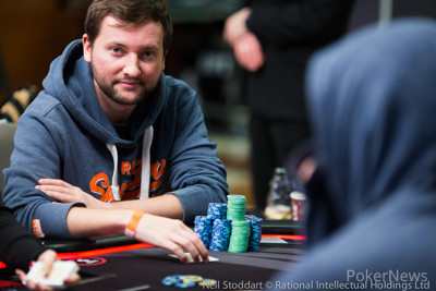 Michal Mrakes leads PokerStars Championship Prague
