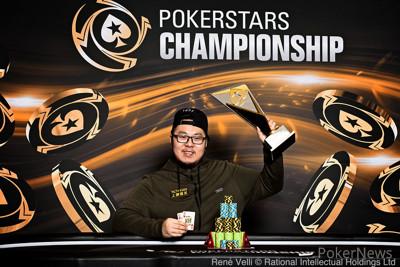 PokerStars Championship Prague High Roller Winner Danny Tang