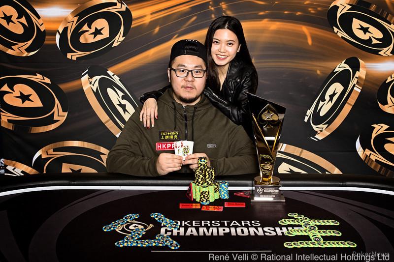 PSC Prague High Roller Winner Danny Tang