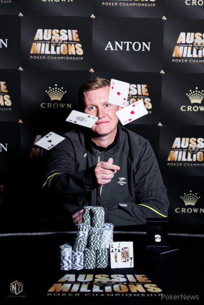Ben Lamb Wins the 2018 Aussie Millions $25,000 Challenge