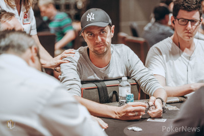 Lee Armstrong bagged up the lead on Day 1a