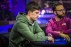 Final Table chipleader Keith Tilston