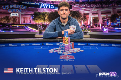 Keith Tilston Wins the USPO 50k NLH Event #8!