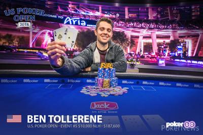 Ben Tollerene Wins Event #5 10K NLH