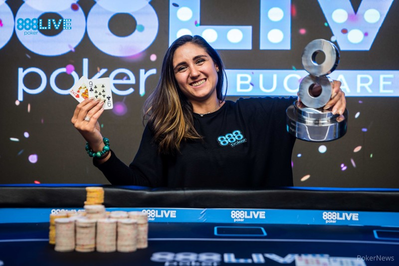 Ana Marquez Wins the €2,200 High Roller